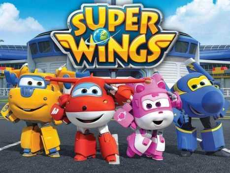 Joy in Super Wings