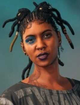 Talia (Mercedes Morris) in Far Cry 6